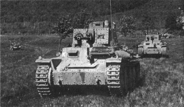 Легкие танки Pz. Kpfw. 38 (t). Франция, май 1940 года
