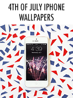 Independence Day! Fireworks! Beers! Barbecues! Free iPhone screens!