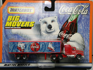 MatchBox - Coca Cola Big Movers
