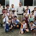 Crianças homenageiam policiais militares do 6º BPM pelo dia do soldado