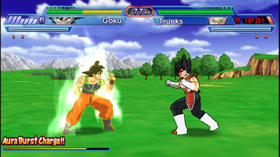 Dragon Ball Z: Shin Budokai 2 (EUR) PSP ISO Screenshots #1