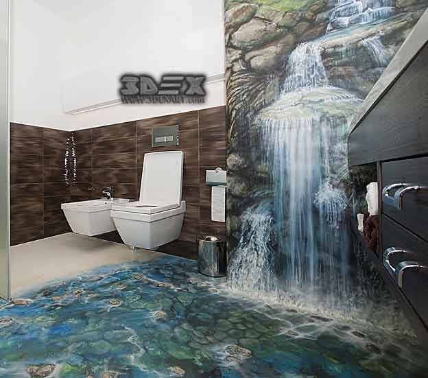 Best 3D Flooring Designs, 3D Epoxy Floor Images For