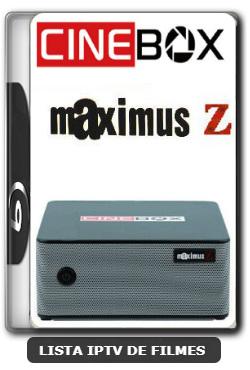 Cinebox Maximus Z Melhorias no IKS Nova Atualização - 11-01-2020