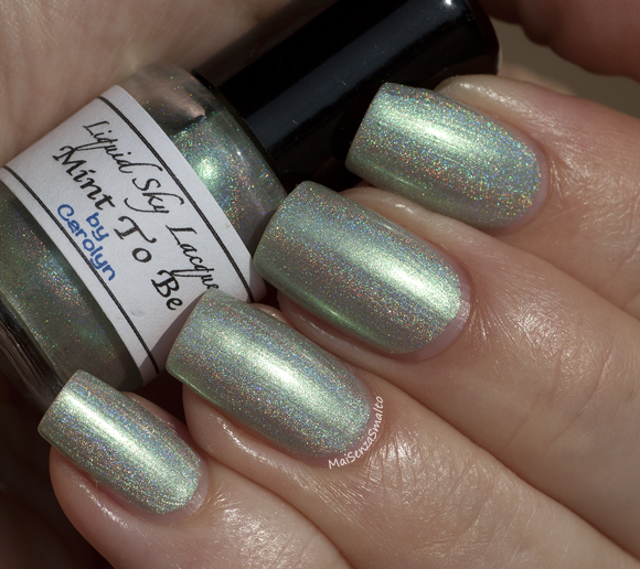 Liquid Sky Lacquer Mint To Be