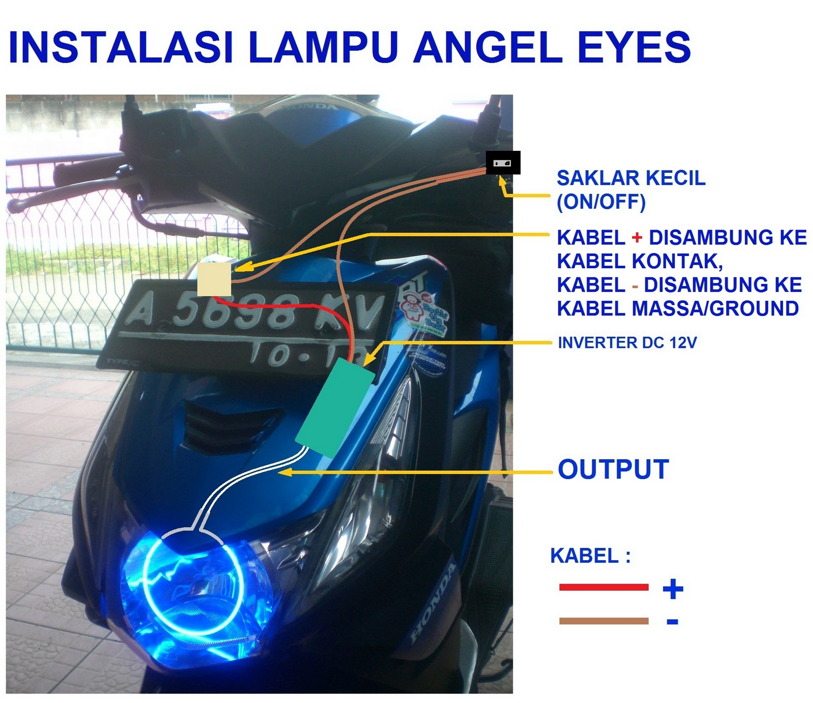 Pasang Lampu Angel Eyes Yuk