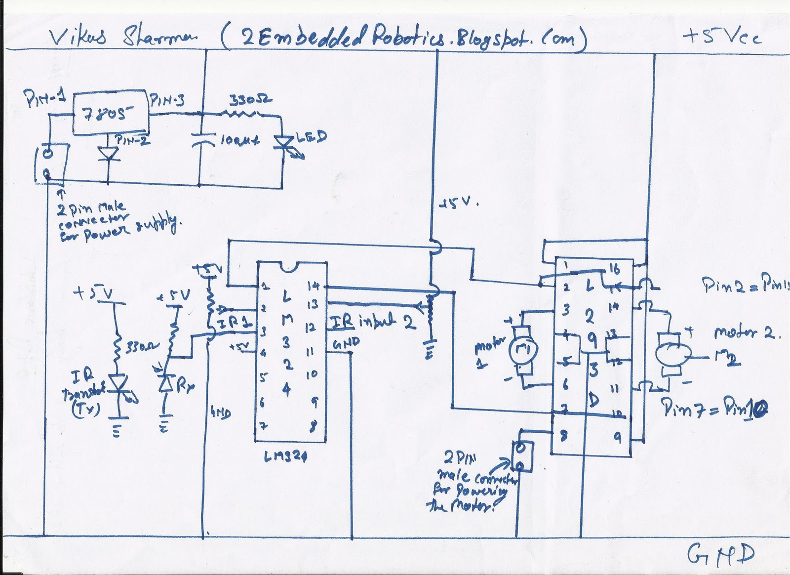 Circuit Diagram Of Self Balancing Robot Great Installation Robotic Electronics Projects And Details Rh 2014 Blogspot Com