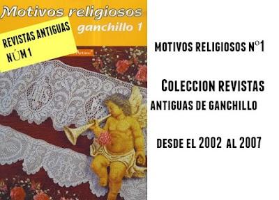 Motivos de ganchillo religiosos. Revista 1
