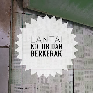 cristal cleaner - pembersih lantai kamar mandi