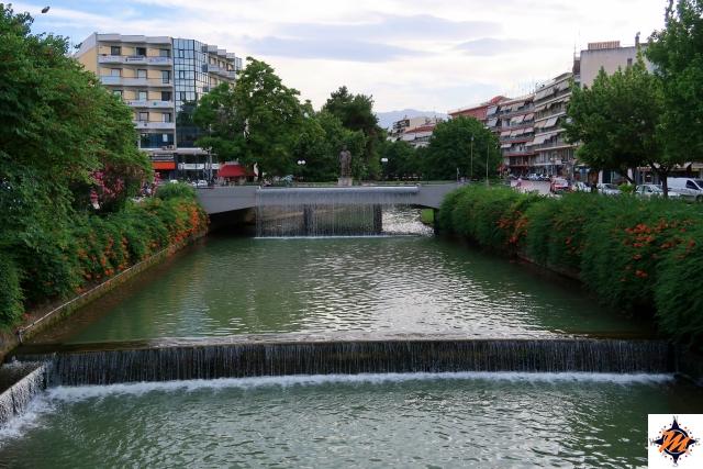 Trikala, Ponte Centrale