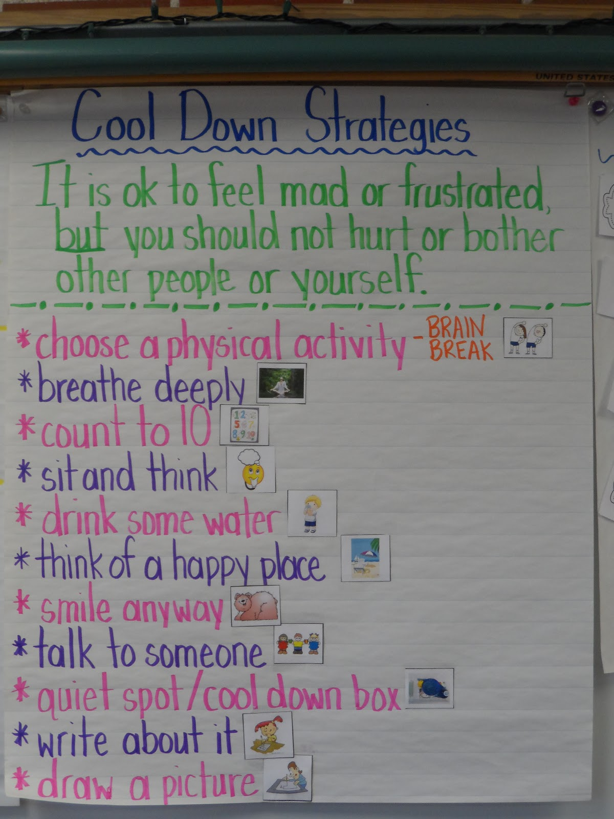 Confessions Of A Primary Teacher Cool Down Strategies Revisited