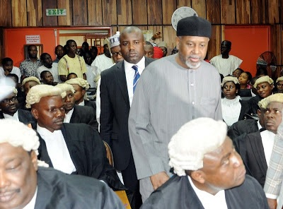 FG fails to produce Dasuki in court for the 5th time