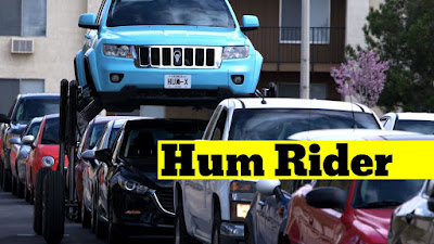 Traffic Is No Problem For This Jeep 'Hum Rider'