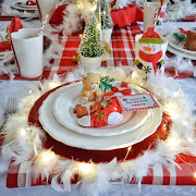 Baby's First Christmas Tablescape