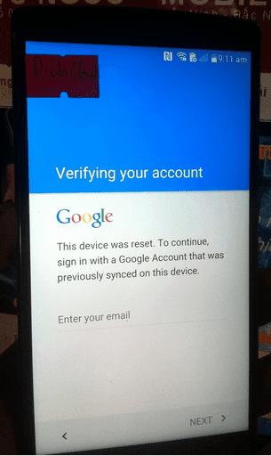 Unlock LG-F720S Stylus 2 khóa Google account tại Vũng Tàu | ĐTDĐ