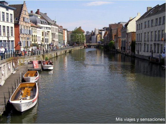 canales de Gante, Bélgica