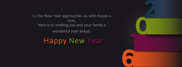 New Year Wishes Cover Picture for facebook and twitter