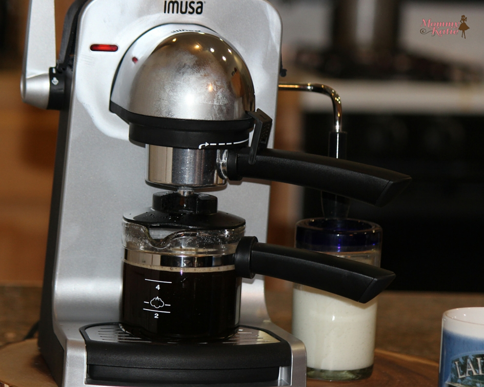 #Giveaway Celebrate National Coffee Day with IMUSA Bistro 4-cup Espresso Maker