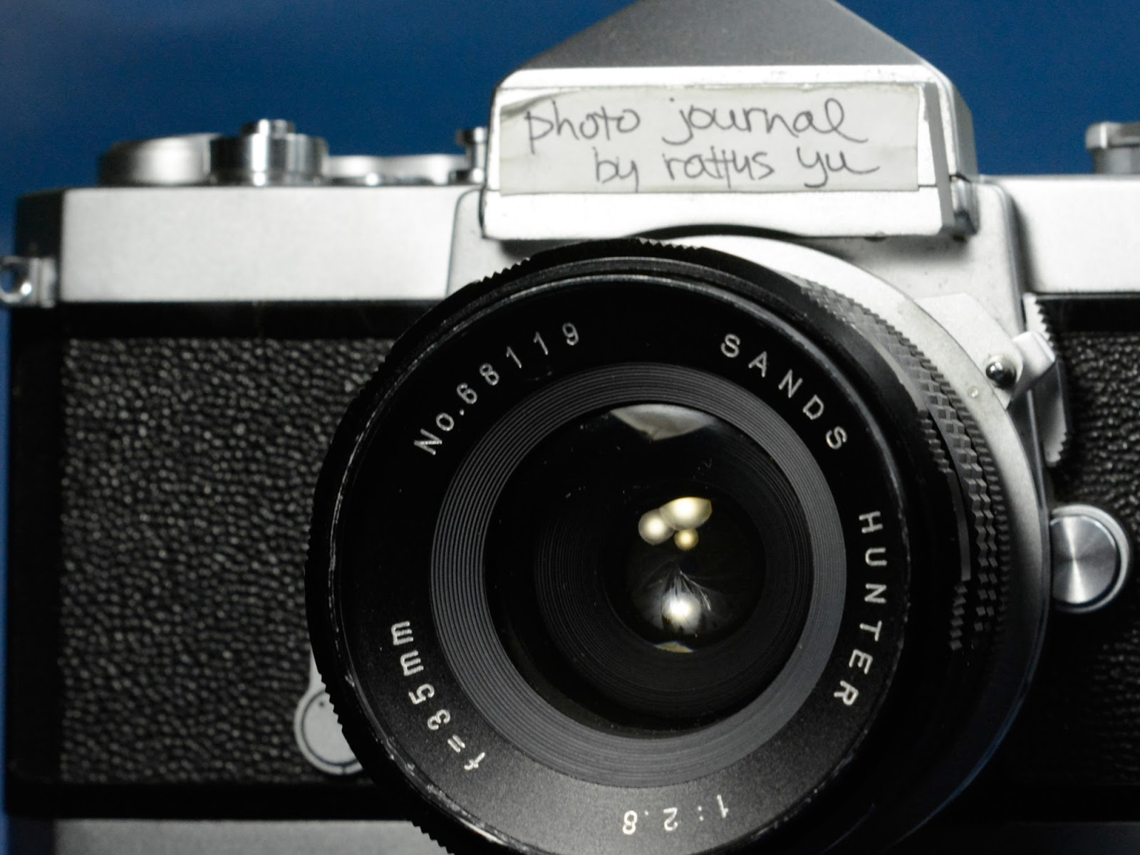 Sands Hunter 35mm f/2.8 T-Mount Preset Lens (Tokina)