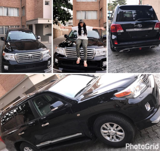 Image result for Churchill's alleged side chick Rosy Meurer gets a Land Cruiser