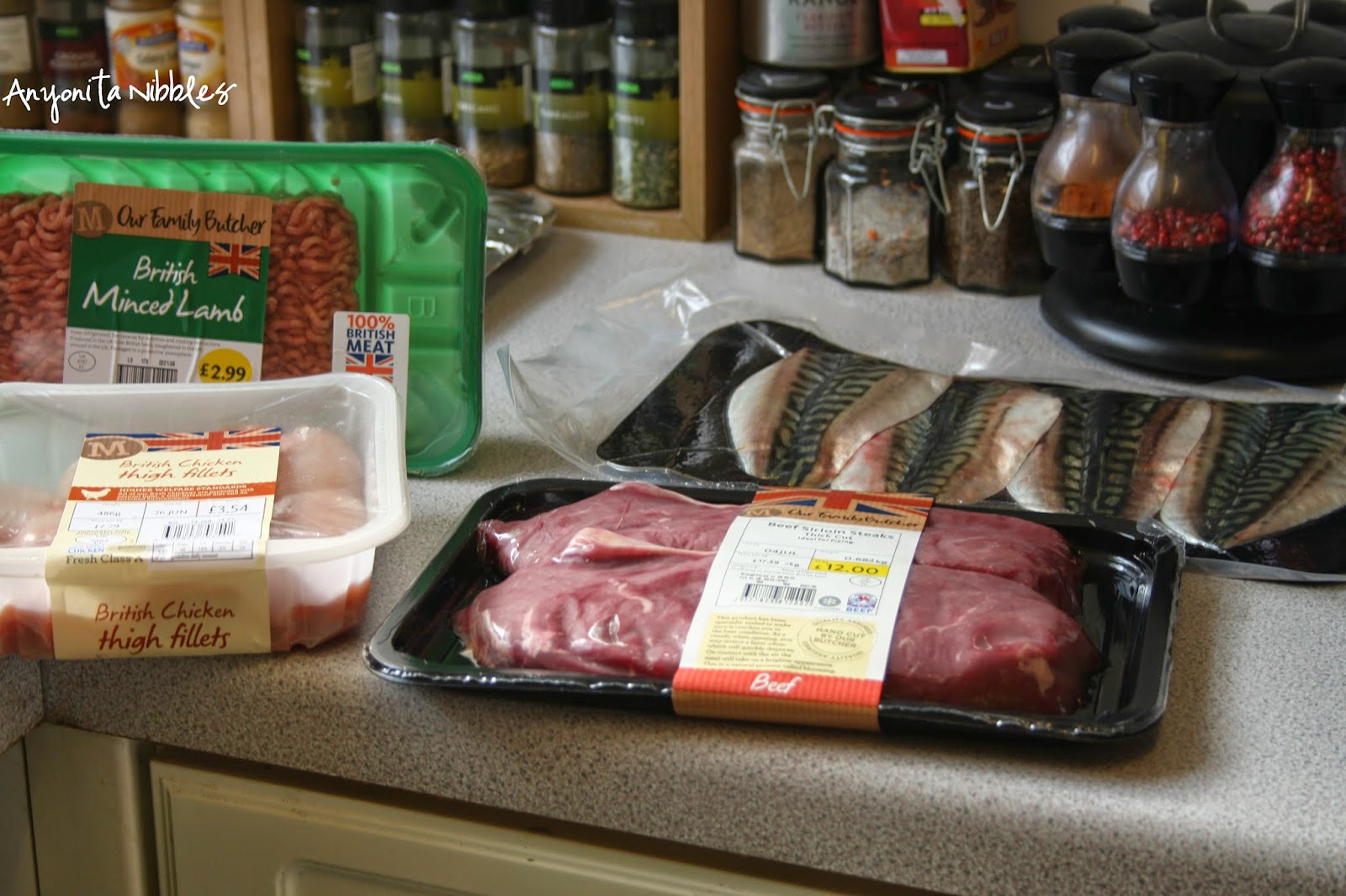 You can buy lamb, chicken, beef and fish online from Morrisons
