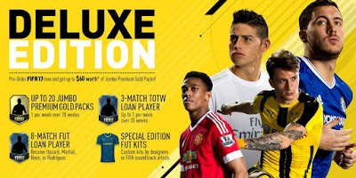 EA Mengumumkan Tanggal Rilis FIFA 17