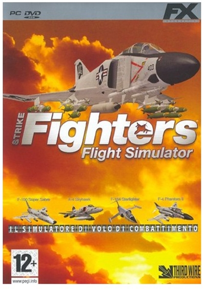 Strike Fighters Flight Simulator [PC Full] Español [ISO] DVD5 Descargar