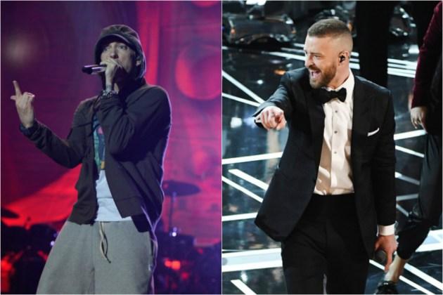 Eminem and Justin Timberlake