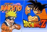 لعبة ناروتو ضد غوغو من انمي دراغون بول Naruto vs Goku game