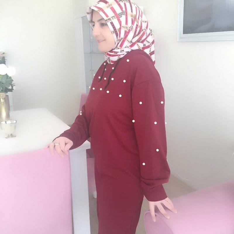 Rosegal Bordo İncili Tunik Elbise