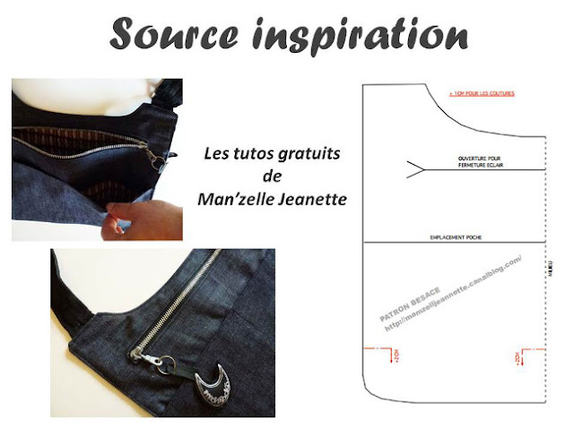 diy sac bandoulli re homme ou femme bettinael passion couture made in france. Black Bedroom Furniture Sets. Home Design Ideas