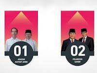 [UPDATE] Real Count KPU Jum'at Pukul 07.00, Jokowi-Maruf : 56.36 Persen, Prabowo-Sandi : 43.64 Persen