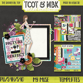 Revel In Retro and a Peppering of Free Digital Scrapbooking Goodies
