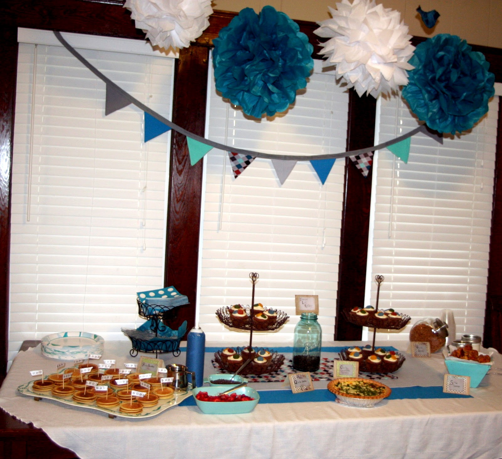 Circles Of Sunshine: Handmade Vintage Baby Shower Ideas