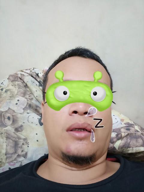 hasil foto selfie OPPO F7