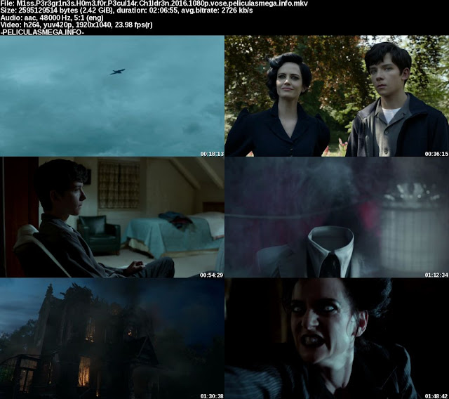 Descargar Miss Peregrine's Home for Peculiar Children Subtitulado por MEGA.