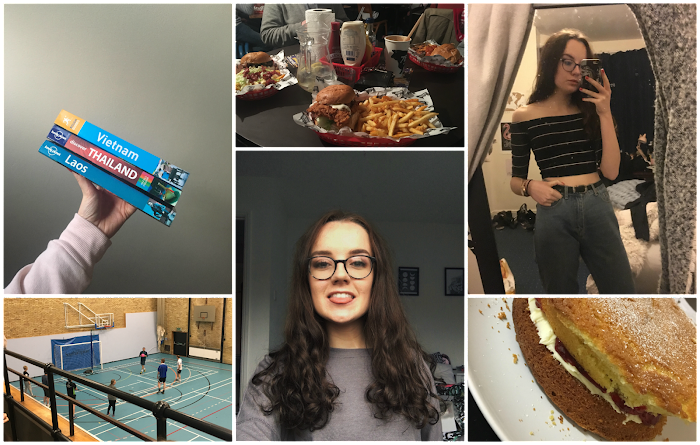 A lifestyle roundup of my week at university featuring all I've bought, watched, eaten, seen and been up to. Featuring booking my southeast asia trip, baking a cake and a much overdue haircut