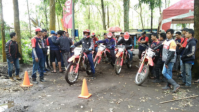 Honda CRF150 Bikers Camp Batu
