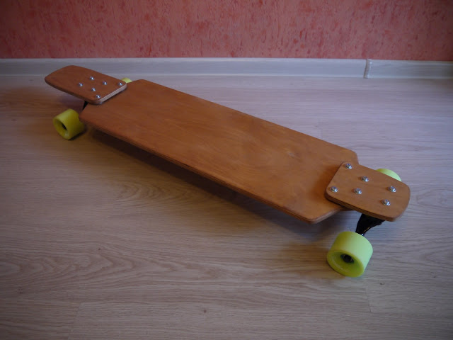 Combined sectional drop-down longboard