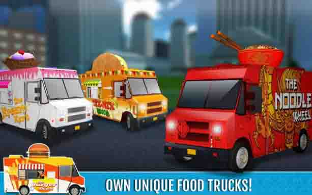 Food Truck Rush Drive & Serve Android