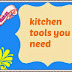 WHAT ARE THE TOOLS NEED A FOOD BLOGGER/KITCHEN WARE FOR A FOOD BLOGGER