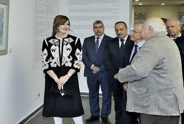 Princess Lalla Salma visited Mohammed VI Museum of Modern and Contemporary Art (MMVI) in Rabat