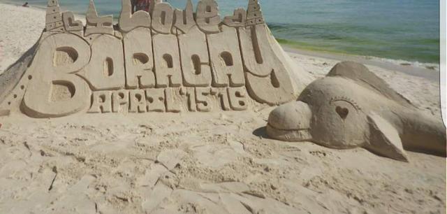 boracay sand sculpture