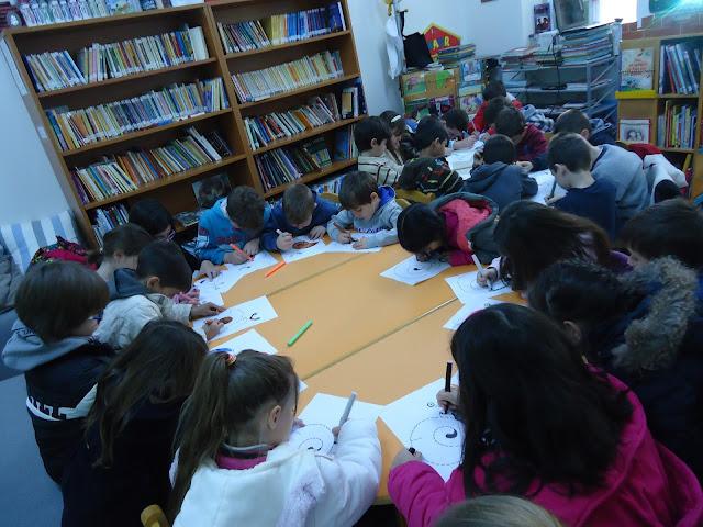 Εκπαιδευτική επίσκεψη του 1ου Δημοτικού Σχολείου στη Δημοτική Βιβλιοθήκη Κρανιδίου