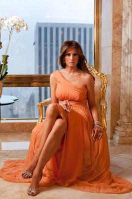 gilda pedone parla di Donald Trump e Melania