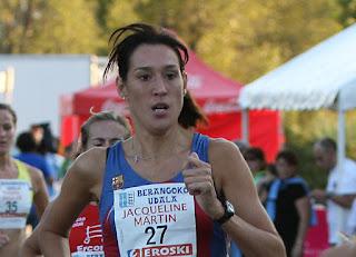 Resultado de imagen de fotos jacqueline martin. atleta