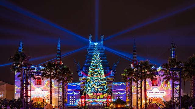 Comemorações de Natal no Hollywood Studios