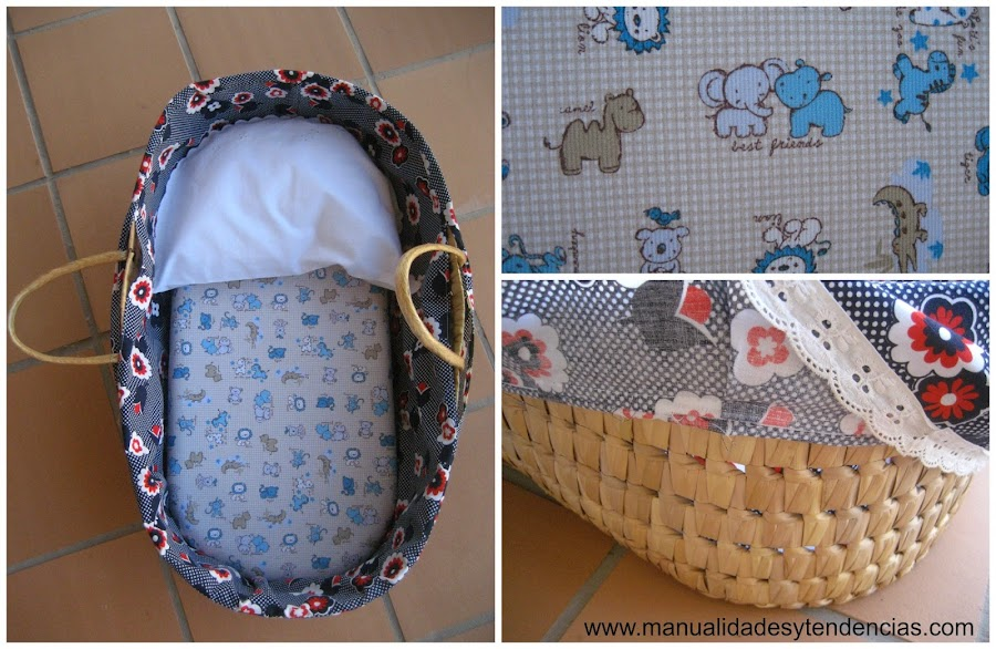 Capazo de bebé customizado