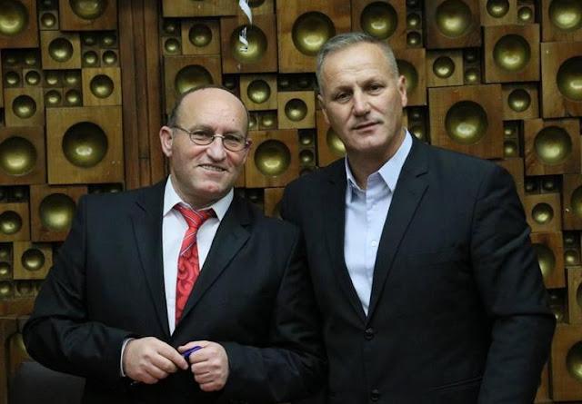 Qemajl Krasniqi dhe Agron Limani