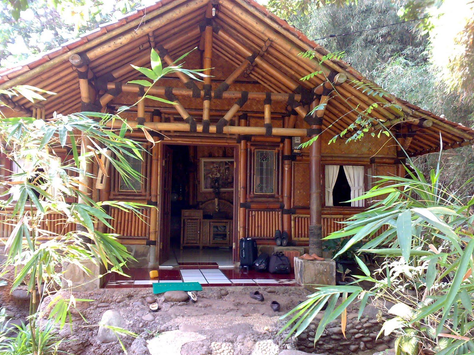 70 Model Rumah Sederhana Dari Bambu Terbaru Dan Terkeren