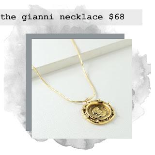 gianni necklace bird bee detroit
